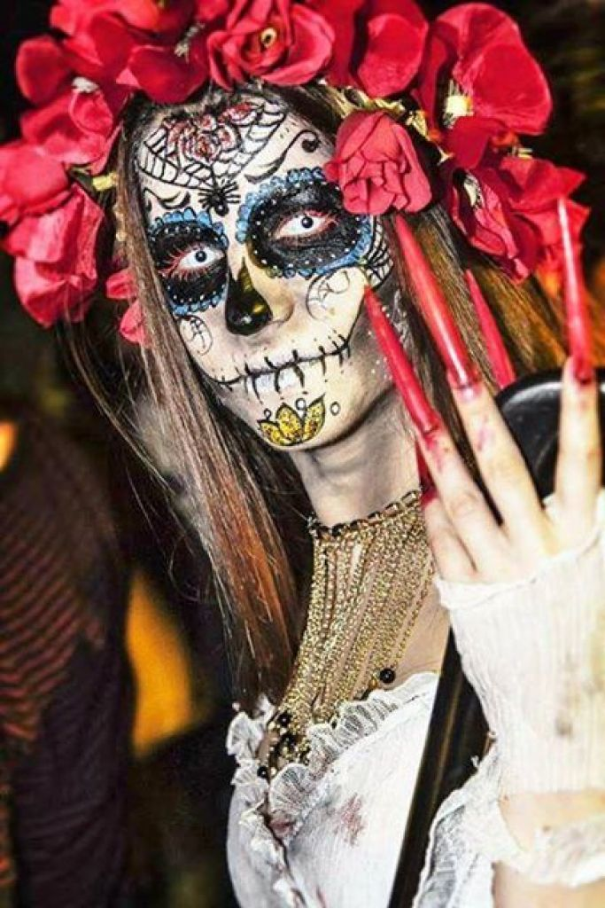 Nuestra Senora de la Santa Muerte & MUAdb.com the Make Up Artist data base