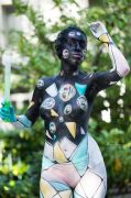 Body Painting per Abano Terme Festival